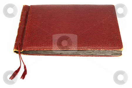 Vintage photo album stock photo, Vintage photo album on a white background by Birgit Reitz-Hofmann