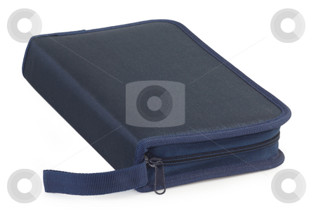 CD bag stock photo, CD and DVD bag on bright background by Birgit Reitz-Hofmann