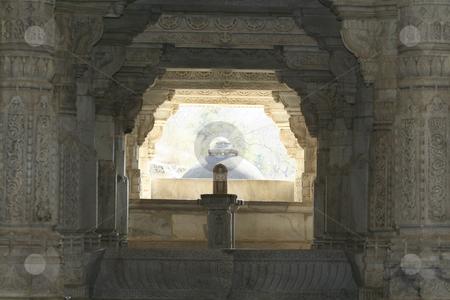 Ranakpur Jain Temple stock photo,  by Didier Tais