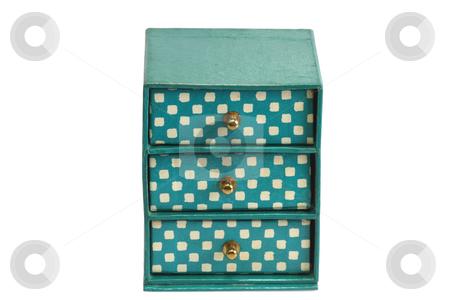 Cardbox stock photo, Cardbox archive isolated on white background by Birgit Reitz-Hofmann