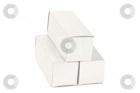 White Box stock photo, Box isolated on white background by Birgit Reitz-Hofmann