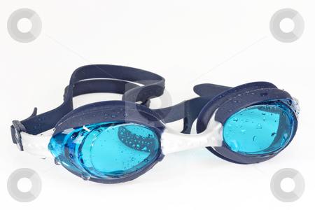 Swimming googles stock photo, Swimming googles on bright background. by Birgit Reitz-Hofmann