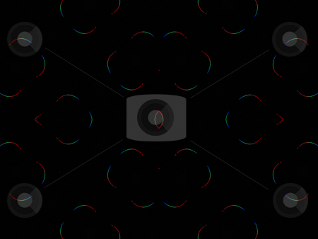 Neon Rainbow Thins - Background Pattern stock photo, Neon Rainbow Thins - Background Pattern, thin vibrant neon rainbow lines making a pattern. by Dazz Lee Photography
