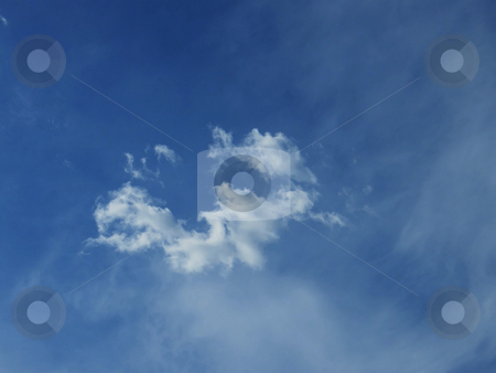 Cloud Ring stock photo, Cloud Ring, odd looking clouds froming a circular shape in the sky. by Dazz Lee Photography