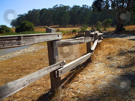 Rustic Fence stock photo,  by Michael Felix