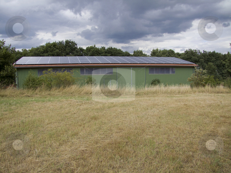 Solar Energy stock photo, Solar panels on a roof - outdoor shot by Birgit Reitz-Hofmann