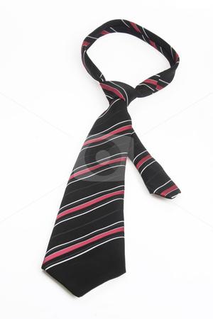 Necktie stock photo, Necktie accessory on bright background by Birgit Reitz-Hofmann
