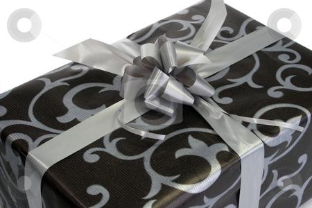 Present stock photo, Gift present isolated on white background by Birgit Reitz-Hofmann