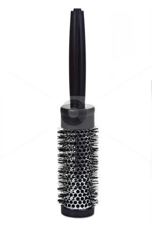 Hairbrush stock photo, Hairbrush on bright background. Shot in Studio by Birgit Reitz-Hofmann