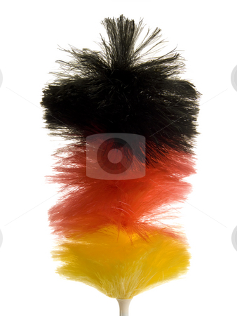 Duster stock photo, Detail from duster isolated on white background by Birgit Reitz-Hofmann
