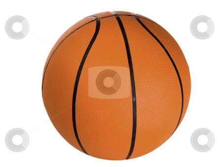 Basketball_1 stock photo, Basketball isolated on white background by Birgit Reitz-Hofmann