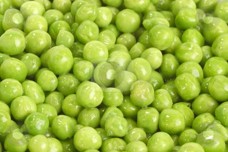 Green peas stock photo, Green peas in detail as background by Birgit Reitz-Hofmann