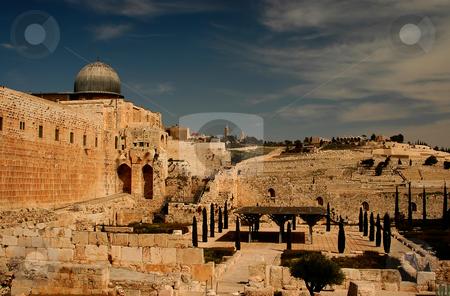 Jerusalem stock photo, The old city of jerusalem in israel by Kobby Dagan