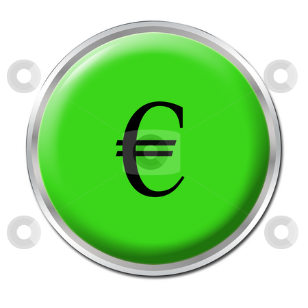 Economic Help Button stock photo, Isolated round button starting the economic help by Petr Koudelka