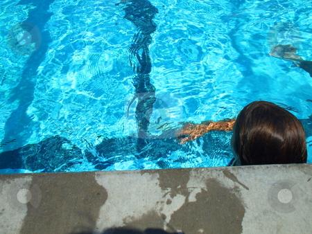 Swimmer stock photo,  by Michael Felix