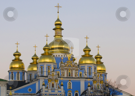 St. Sofia Cathedral stock photo, St. Sofia Cathedral  in Kiev the capital of Ukraine by Kobby Dagan