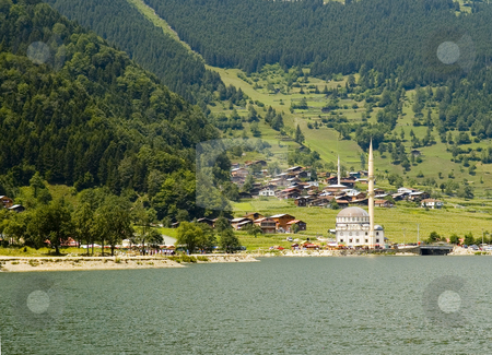 Ozungul Lake stock photo, The Ozungul lake in north east Turkey by Kobby Dagan