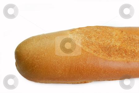Fresh Baguette bread  stock photo, Baguette bread isolated on white background by Birgit Reitz-Hofmann