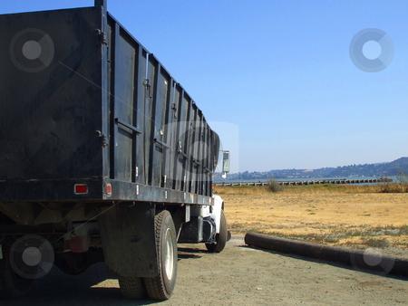 Construction Truck stock photo,  by Michael Felix