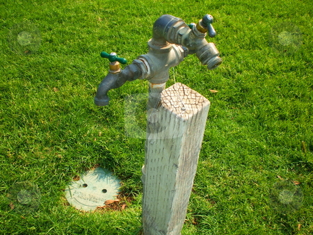 Drinking Fountains stock photo,  by Michael Felix