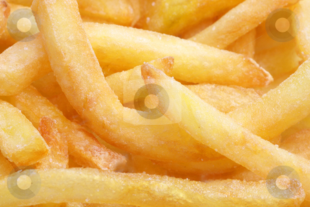 French_Fries stock photo, Crunchy French Fries in detail as background by Birgit Reitz-Hofmann