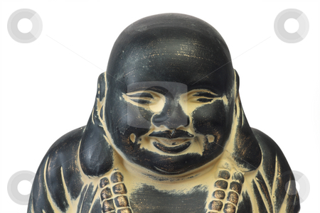 Buddha stock photo, Buddha on a white isolated background by Birgit Reitz-Hofmann