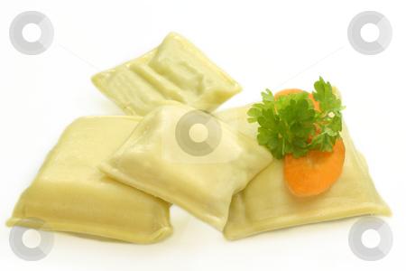 Filled pasta stock photo, Filled pasta on bright background. Shot in Studio by Birgit Reitz-Hofmann