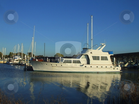 Big New Marina stock photo,  by Michael Felix