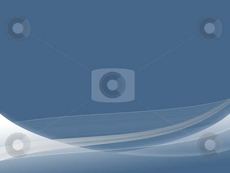 Dynamic Wave Background stock photo, A set of blue gradient dynamic waves and lines with blue background by Alexander Zschach