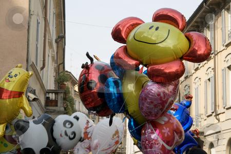 Sunny balloon stock photo, Sunny balloon by Creative Shield