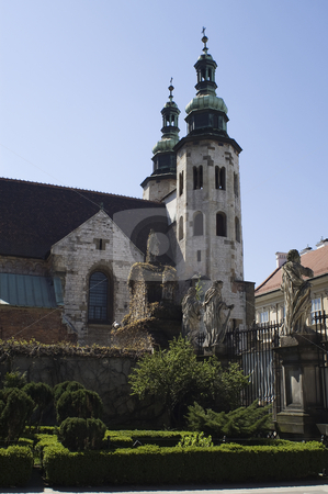 Old church stock photo, Old church next to Saint Peter and Pauls', Krakow, Poland by Stephen Sienczyk