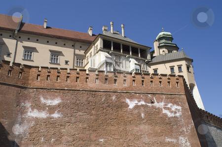 Wawel  stock photo, A view of the Wawel fortress in Krakow, Poland. by Stephen Sienczyk