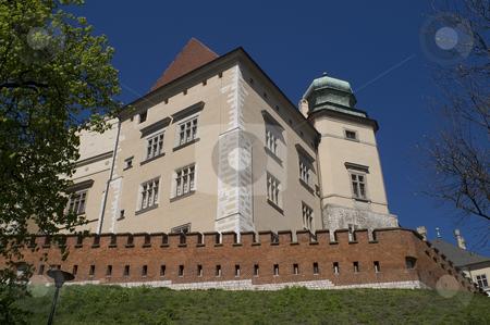 Wawel stock photo, A view of the Wawel fortress, Krakow, Poland. by Stephen Sienczyk
