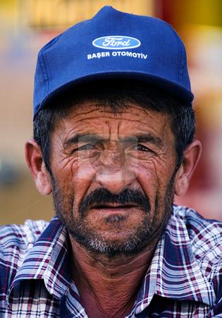 Turkish man stock photo, Portrait of turkish man by Kobby Dagan