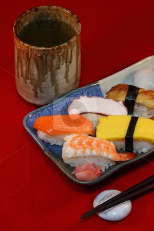 Japanese sushi 2 stock photo,  by Tomo Photography