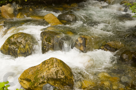 Stream stock photo, Stream in the