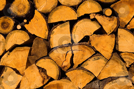 Wood stock photo, Close up on wood in Bulgarian village by Kobby Dagan