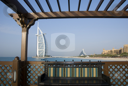 Dubai Architecture stock photo,  by Didier Tais