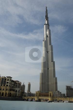 Burj Dubai stock photo,  by Didier Tais