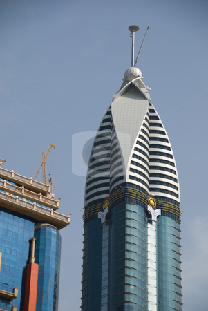 Dubai Building stock photo,  by Didier Tais