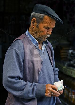 Turkish man stock photo, Portrait of a turkish man in Ankara by Kobby Dagan