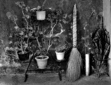 Old Europe stock photo, Old but well-known things  whose  have been long in use in European history.BW image by Sinisa Botas