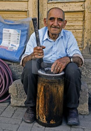 Turkish man stock photo, Portrait of a turkish man by Kobby Dagan