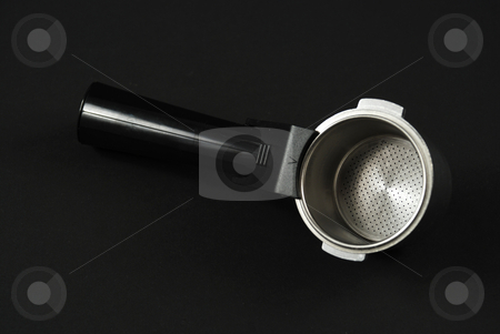 Cofee maker parts stock photo, Pictures of the parts in an expresso coffee maker by Albert Lozano