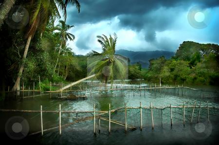 Raban Lake stock photo,  by Norazshahir Razali