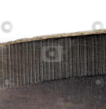 Blade stock photo, Micro detail of knife blade by Juraj Kovacik