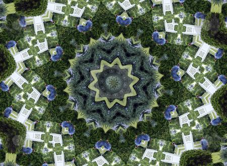 Landscaper - Background Pattern stock photo, Landscaper - Background Pattern by Dazz Lee Photography
