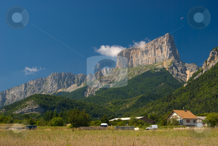 Franz?sische Alpen - Alps in France stock photo, S?dlich von Grnoble - South of Grenoble by Wolfgang Heidasch