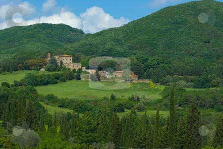 Miemo, Toskana - Miemo, Tuscany stock photo, Die Toskana (italienisch Toscana) ist eine Region in Italien und grenzt im Norden an Ligurien und die Emilia-Romagna, im Osten an die Marken und an Umbrien und im S?den an Latium. - Tuscany (Italian: Toscana) is a region in Italy. It has an area of 22,990 km? and a population of about 3.6 million inhabitants. The regional capital is Florence. by Wolfgang Heidasch