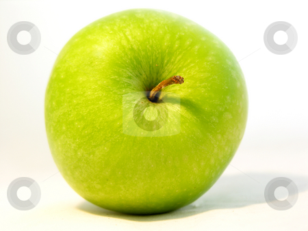 Apple on white stock photo,  by Kirsty Pargeter